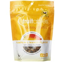 Fruitables Skinny Minis Soft & Chewy Dog Treats - Pumpkin & Mango (5 oz)