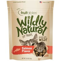 Fruitables Wildly Natural Cat Treats - Salmon Flavor (2.5 oz)
