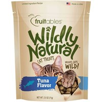 Fruitables Wildly Natural Cat Treats - Tuna Flavor (2.5 oz)