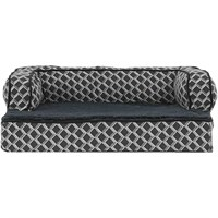 FurHaven Plush & Decor Comfy Couch Orthopedic