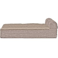 FurHaven Cooling Gel Top Chaise Lounge Sofa-Style