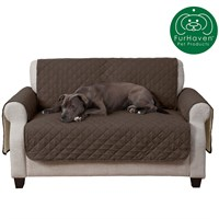 FurHaven Reversible Loveseat Protector - Espresso/Clay furhaven-reversible-loveseat-protector-espresso-clay
