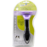 FURminator Long-Hair deShedding Tool for SMALL Cats furminatorcat