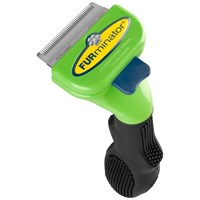 FURminator Short-Hair deShedding Tool for SMALL Dogs