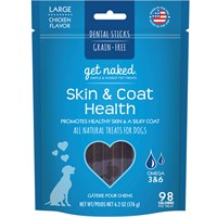 Get Naked Skin & Coat Treats for Dogs - Large (6.6 oz)