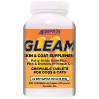Gleam® Skin & Coat Supplement for Pets (60 tablets)
