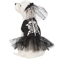 Dog Suppliesappareldog Costumescasual Canine Glow Skeleton Zombie Dog Costume