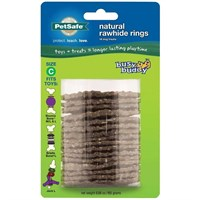 Busy Buddy Gnawhide Ring Refills - LARGE (16 treats)