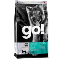 Petcurean Go! Fit + Free™ Adult Dog Food - Chicken Turkey + Trout (25 lb)