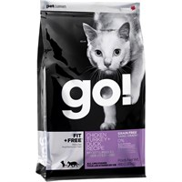 Petcurean Go! Fit + Free Cat Food - Chicken Turkey + Duck (4 lb)