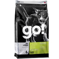 Petcurean Go! Fit + Free Puppy Food - Chicken Turkey + Trout (12 lb)