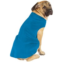 Gold Paw Stretch Fleece - Blue (Size 8)