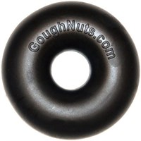 GoughNuts Indestructible Chew Toy - MAXX Power Ring (Black)