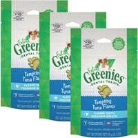 3- pack greenies feline - tempting tuna (7.5 oz) on lovemypets.com