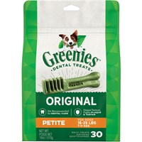 Greenies - Petite 30 Treat Pack (18 oz)