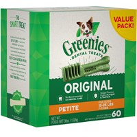 Dog Suppliesdental Productsdental Dog Treatsgreenies Treat Tubpak Canister