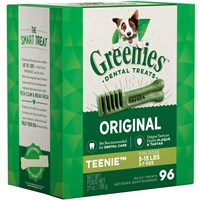 Greenies Treat Tub-Pak Canister Teenie 27 oz. (96 Bones)