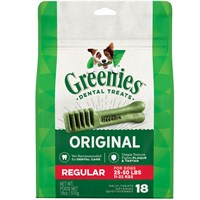Greenies Regular 18 Treat Pack (18 Oz)