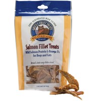 Grizzly Salmon Fillet Treats for Dogs and Cats (3 oz) Best Price
