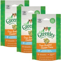3-PACK Greenies Felines - CHICKEN (7.5 oz)