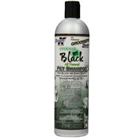Groomer?s Edge Emerald Black Pet Shampoo (16 fl oz)