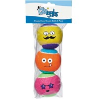 Grriggles™ Funny Faces Tennis Balls 3 - Packs