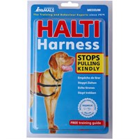 HALTI Training Harness - Medium (Black & Red)