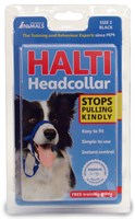 HALTI Headcollar size 2 - Black