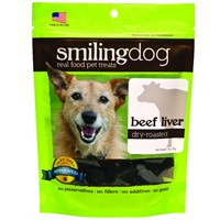 Herbsmith Smiling Dog Dry-Roasted Treats - Beef Liver