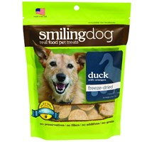 Herbsmith Smiling Dog Freeze-Dried Treats - Duck & Orange