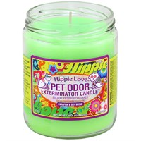 Pet Odor Exterminator Candle™ - Hippie Love™ Jar (13 oz)