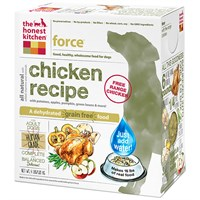 Honest Kitchen Force Dehydrated Grain-Free Chicken Dog Food (4 lbs)