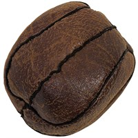 Howard Vintage Flat Basketball Dog Toy - Small
