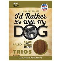 I'd Rather Be With My Dog™ Paleo - Lamb, Beef, & Pork Trios (5 oz)