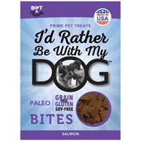 I'd Rather Be With My Dog™ Paleo - Salmon Bites (5 oz)