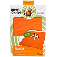 "Insect Shield Blanket 56""x48"" - Orange"