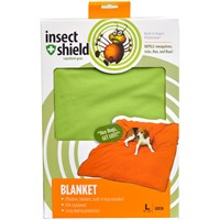 "Insect Shield Blanket 74""x56"" - Green"
