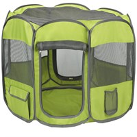 Insect Shield Fabric Exercise Pen Medium - Green