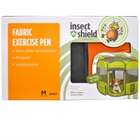 Insect Shield Fabric Exercise Pen Medium - Orange