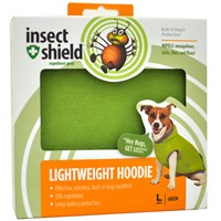 Insect Shield® Lightweight Hoodie Large - Green