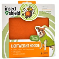 Insect Shield® Lightweight Hoodie Large - Orange