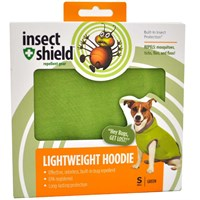 Insect Shield Lightweight Hoodie Small - Green