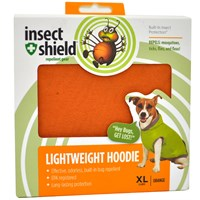 Insect Shield Lightweight Hoodie XLarge - Orange