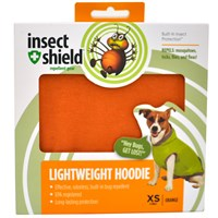 Insect Shield® Lightweight Hoodie XSmall Orange