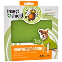 Insect Shield Lightweight Hoodie Xxlarge Green