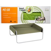 Insect Shield Pet Cot Medium - Green