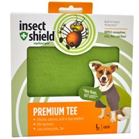 Insect Shield Premium Tee Large - Green