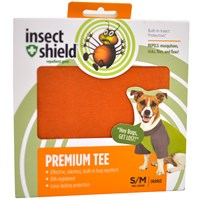 Insect Shield Premium Tee Small/Medium - Orange