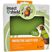 Insect Shield® Protective Safety Vest Large - Green