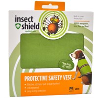 Insect Shield® Protective Safety Vest Medium - Green